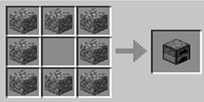 como fazer fornalha no minecraft
