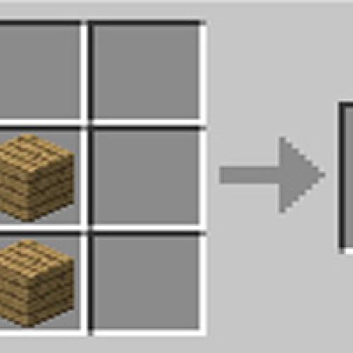 Como fazer graveto stick no Minecraft