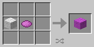 como fazer la colorida colored wool no minecraft