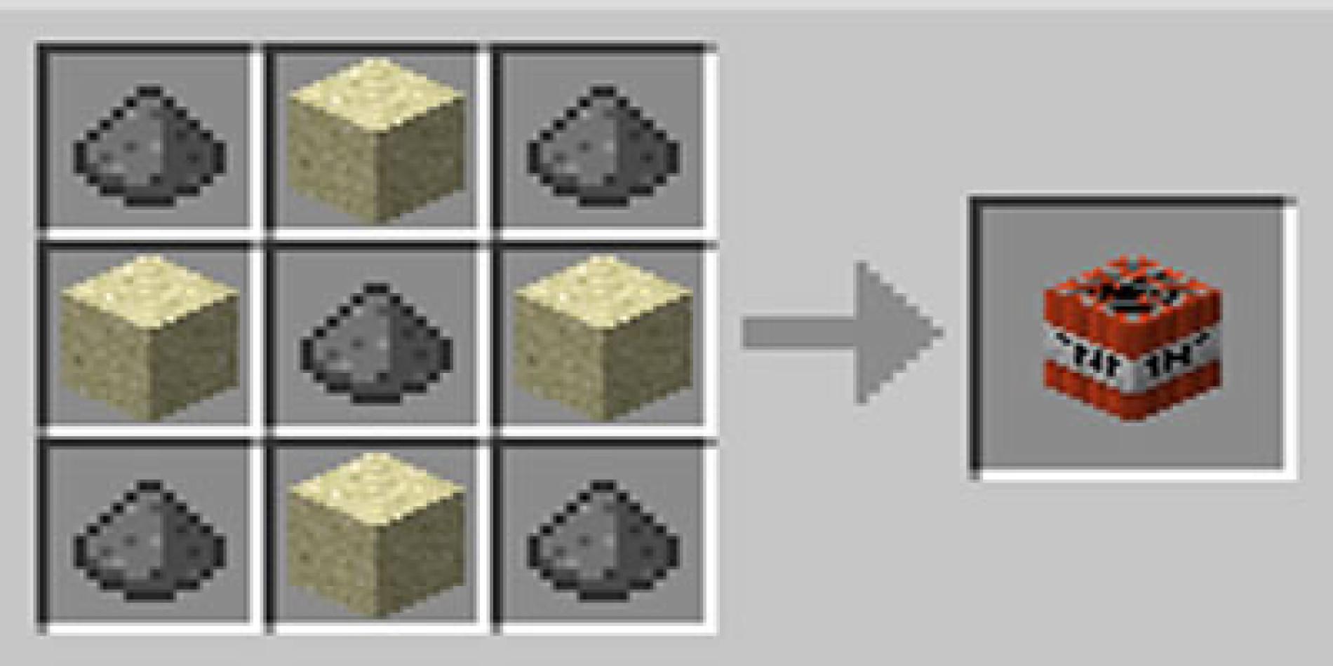 Como fazer TNT no Minecraft