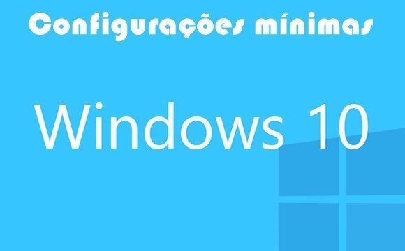 configuracao minima para rodar windows 10