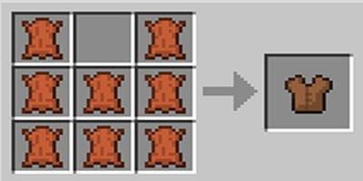 como fazer armadura chestplates no minecraft