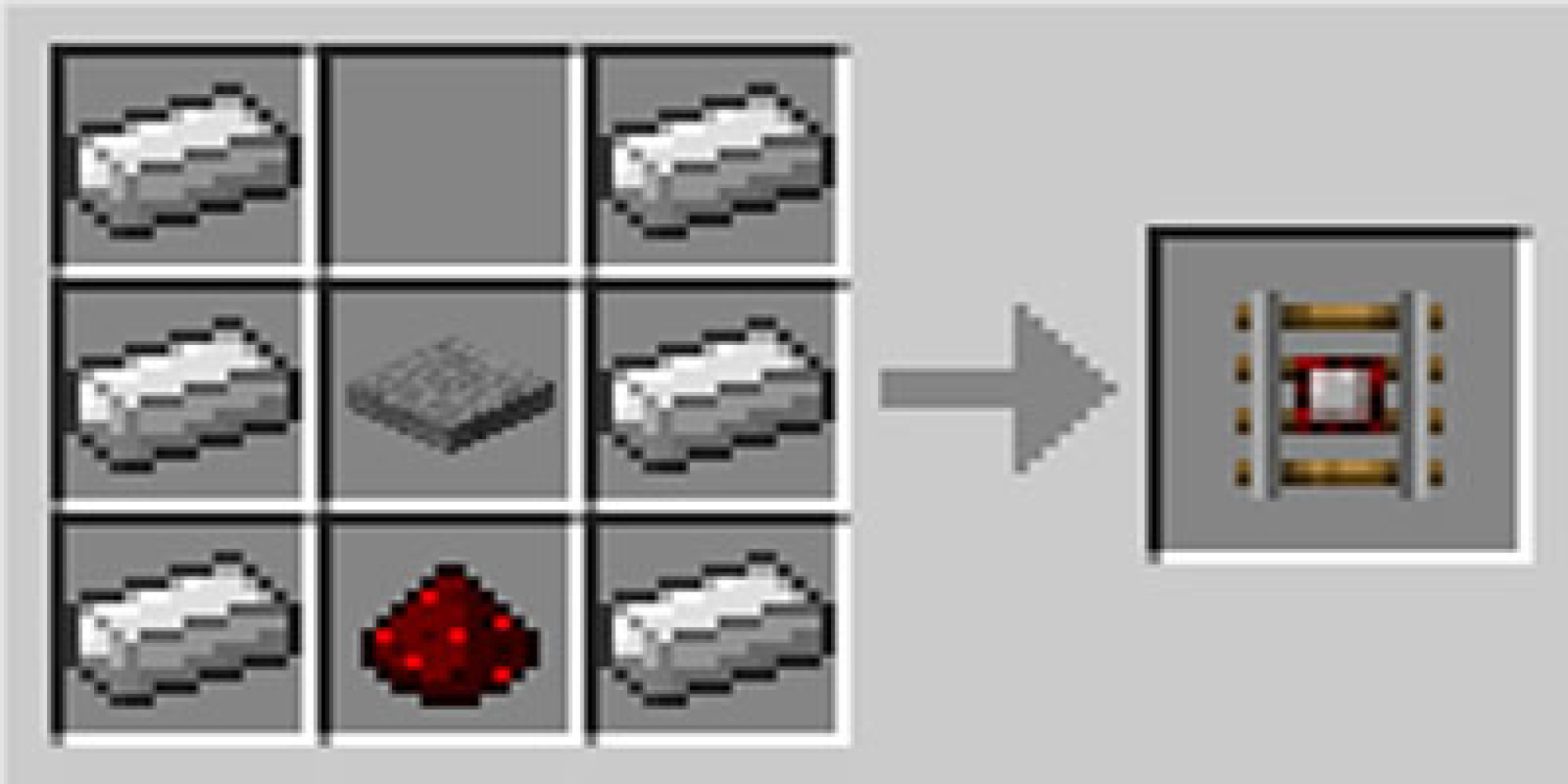Como fazer trilhos detectores detector rail no Minecraft