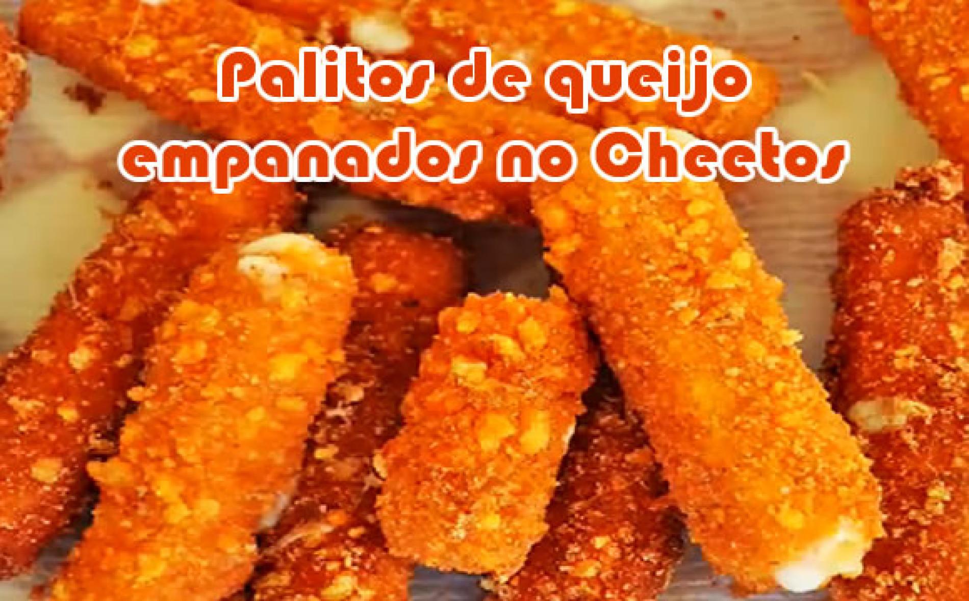 Receita de queijo empanado com Cheetos