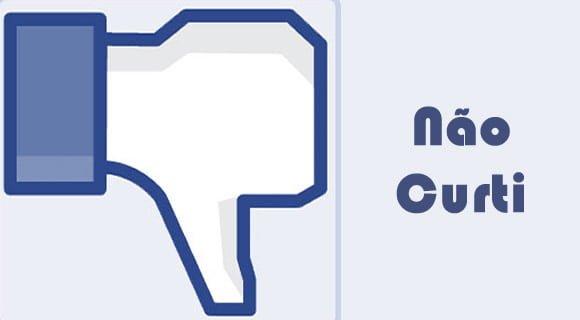 botao de deslike facebook dislike nao curti