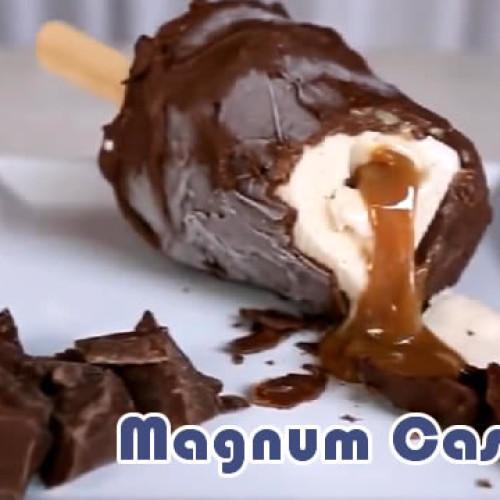 Como fazer sorvete magnum caseiro