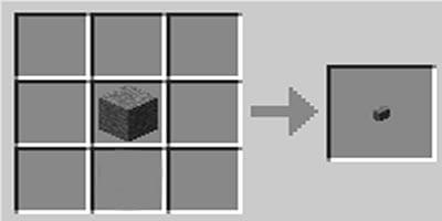 como fazer um botao no jogo minecraft