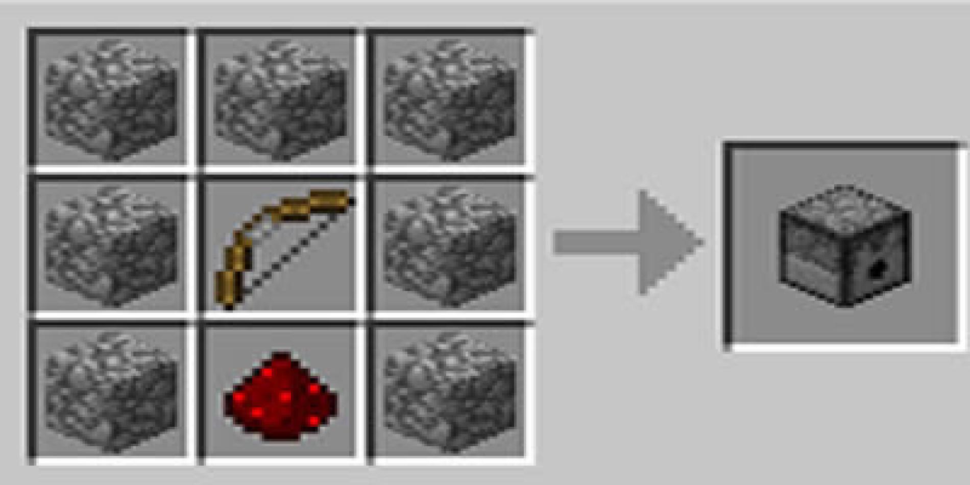 Como fazer um ejetor (dispenser) no Minecraft