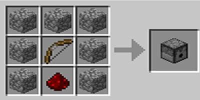 como fazer um dispenser dispensa jogo minecraft