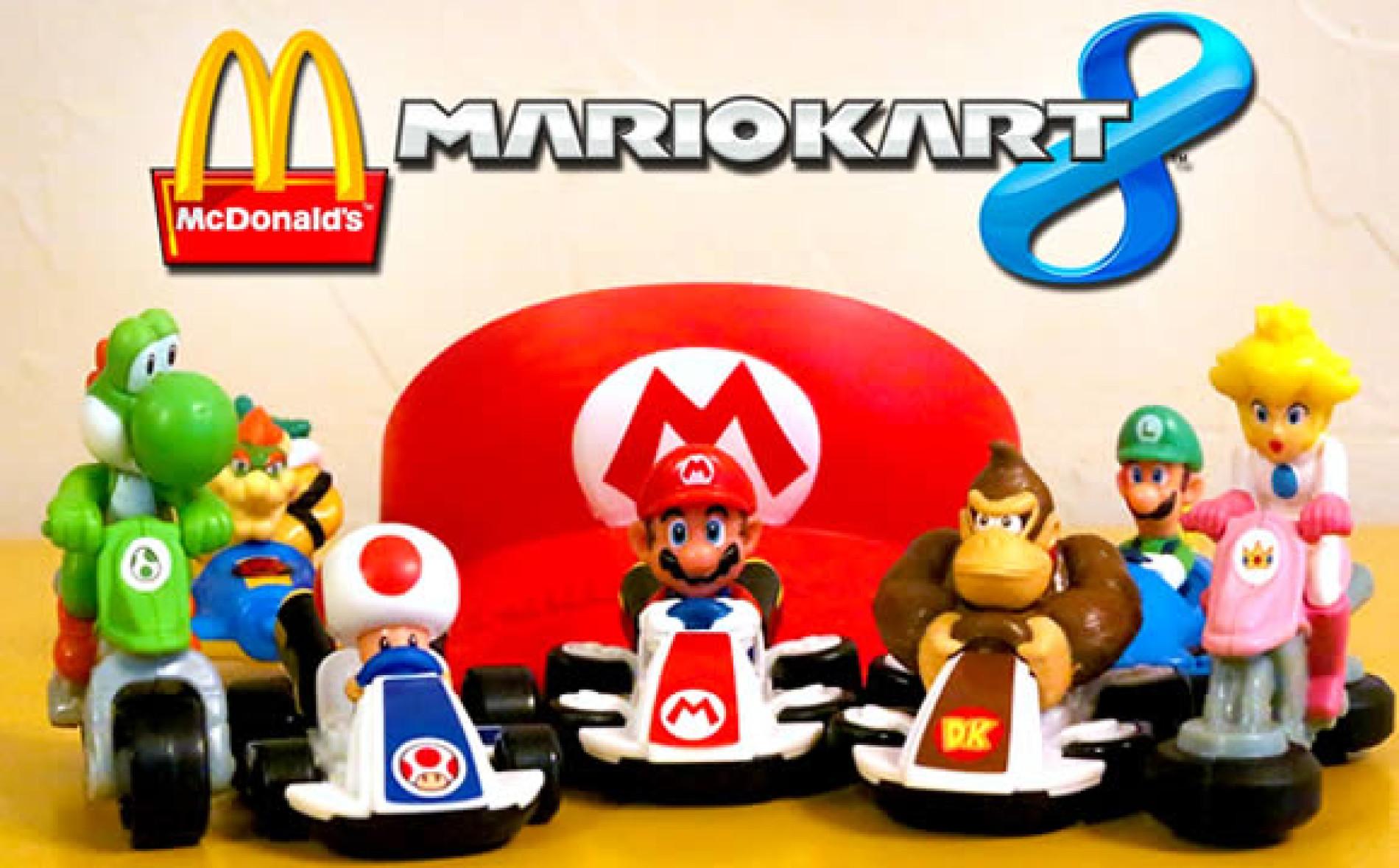 Mario Kart 8 no MCDonalds a partir deste dia 7 de outubro