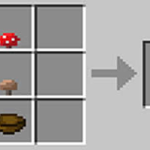 Como fazer uma sopa de cogumelos no Minecraft