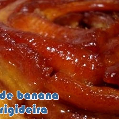 Torta de banana na frigideira – Muito fácil
