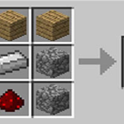 Como fazer um pistão no Minecraft