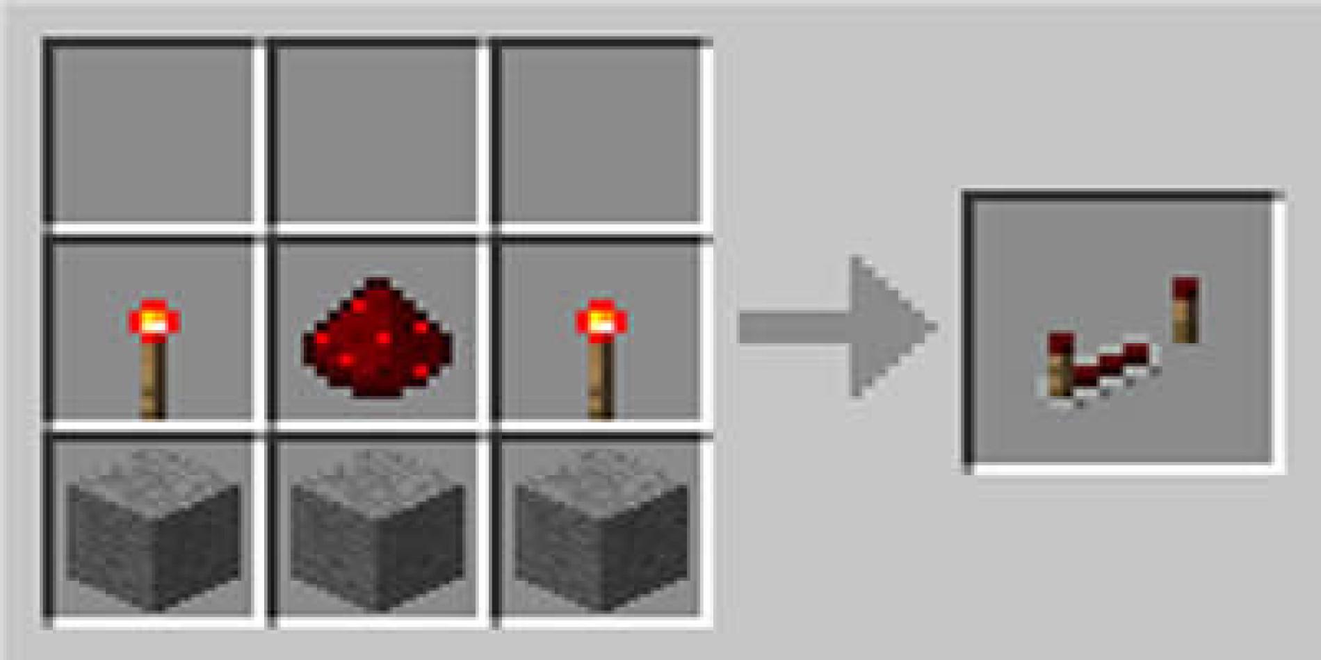 Como fazer um repetidor de redstone no Minecraft