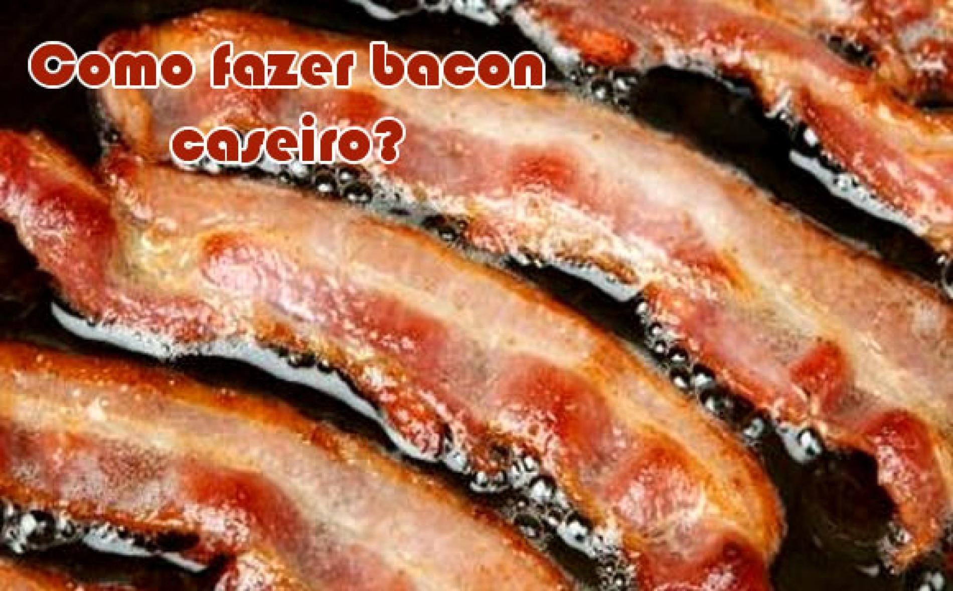 Como fazer bacon caseiro