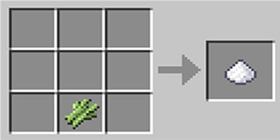 como fazer acucar no jogo minecraft