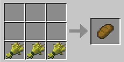 como fazer pao no jogo minecraft