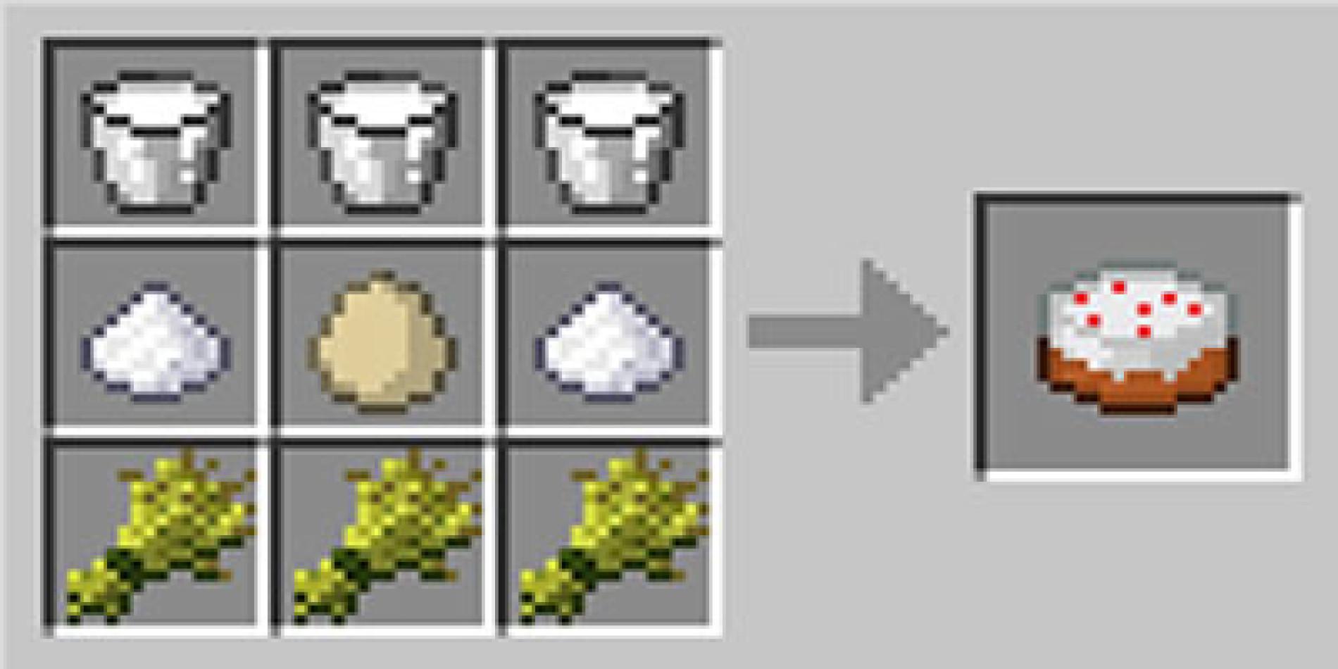 Como fazer um bolo no Minecraft