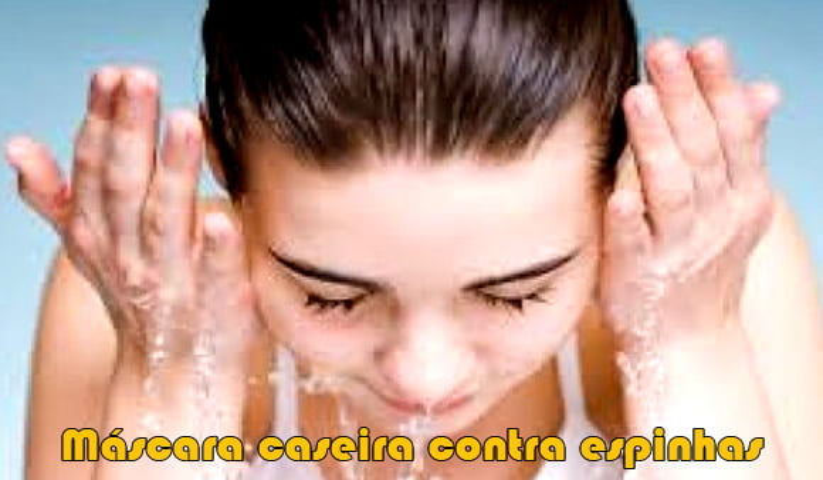 mascara caseira contra espinhas acne rugas cravos