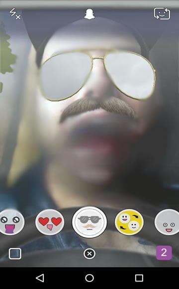 snapchat como colocar efeitos 4