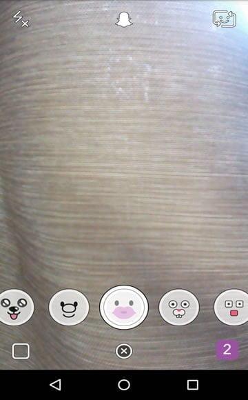 snapchat como colocar efeitos 6