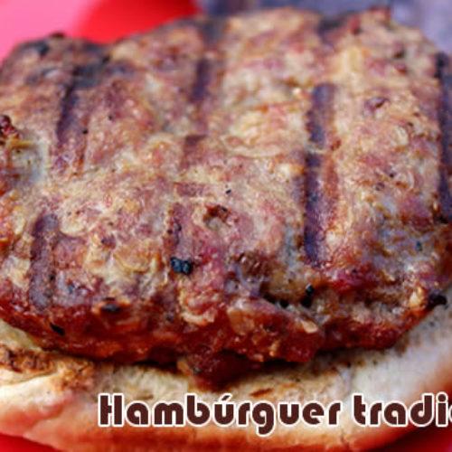 Hambúrguer caseiro Gourmet básico e fácil