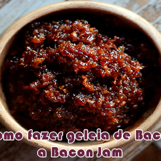Como fazer geleia de bacon – Bacon Jam para hambúrguer