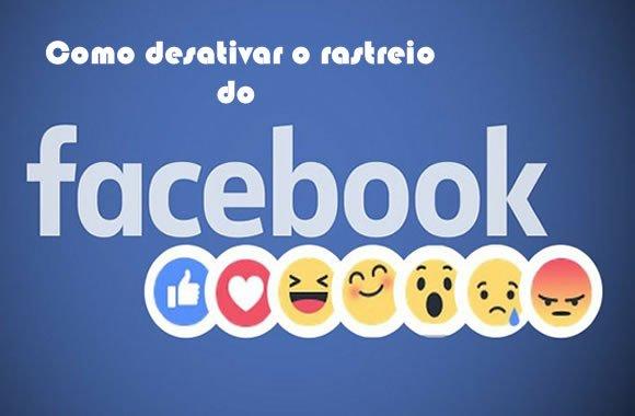 como fazer desativar rastreio facebook