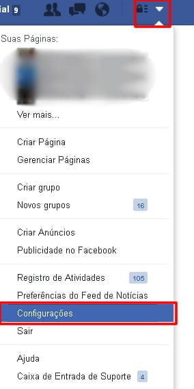 configuracoes rastreio facebook