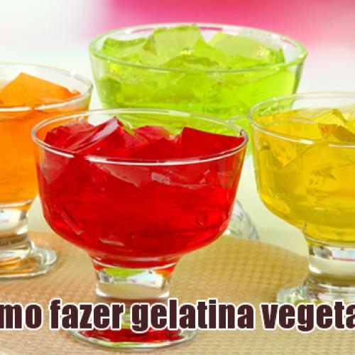 Como fazer gelatina vegetal FIT com Ágar-Ágar