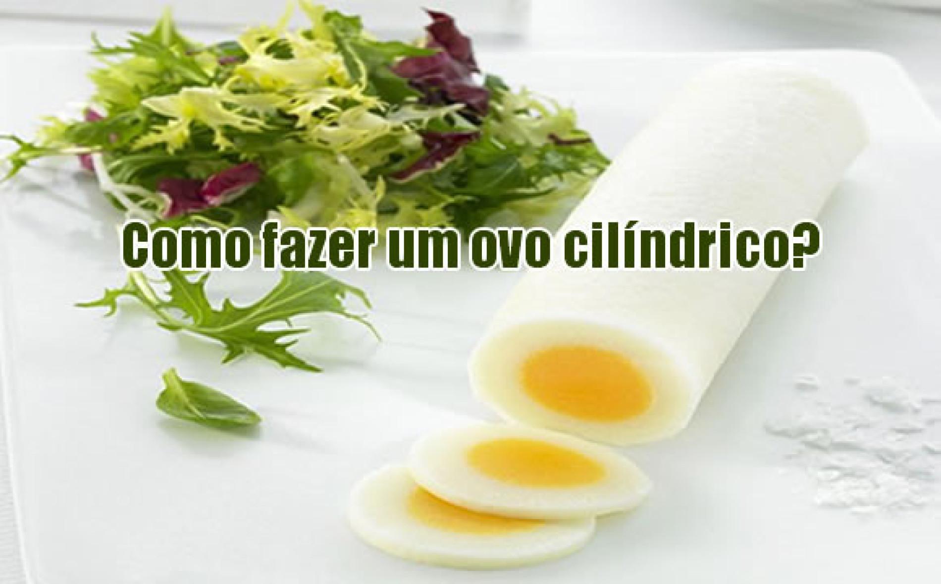 Como fazer ovo cilíndrico – Receitas de decoração