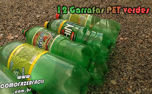 arvore caseira de natal garrafas de refrigerantet