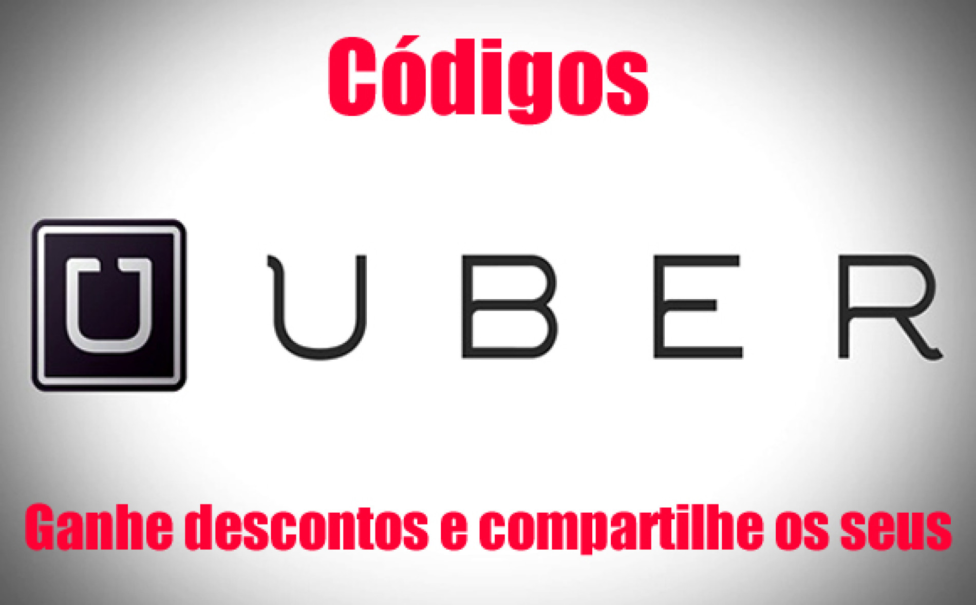 Código UBER – Confira códigos de desconto e compartilhe os seus