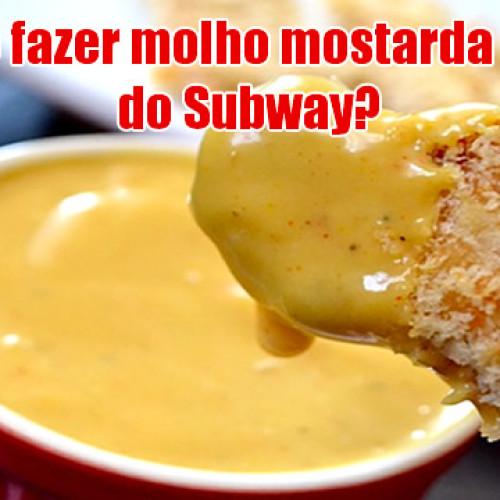 Como fazer molho mostarda e mel (Honey Mustard) do Subway