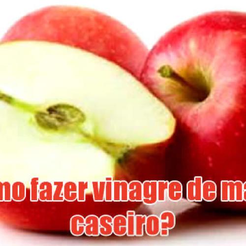 Como fazer receita de vinagre de maçã caseiro
