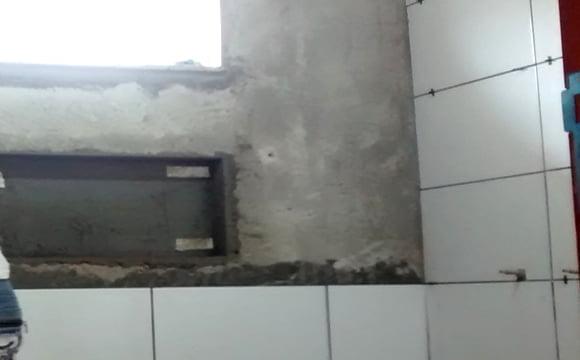 Como fazer um nicho de shampoo no banheiro -> Fazer Nicho Banheiro