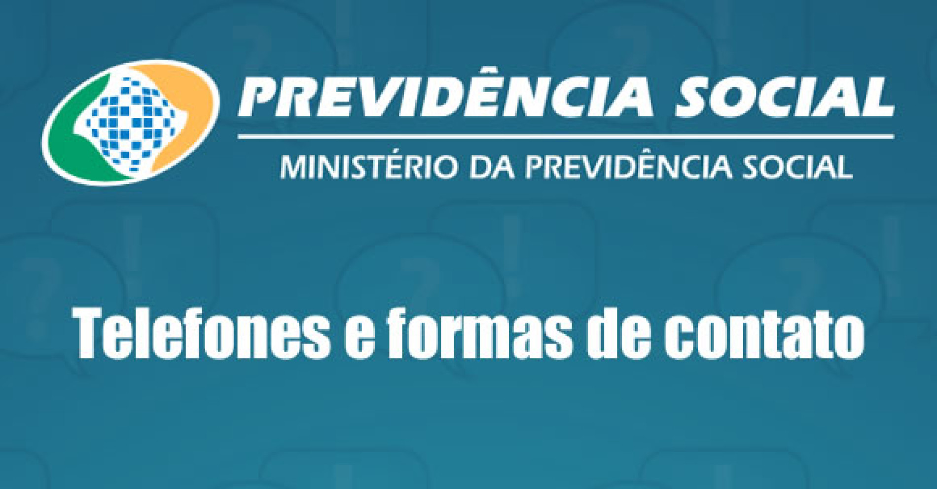 INSS – Telefone e site da Previdência Social