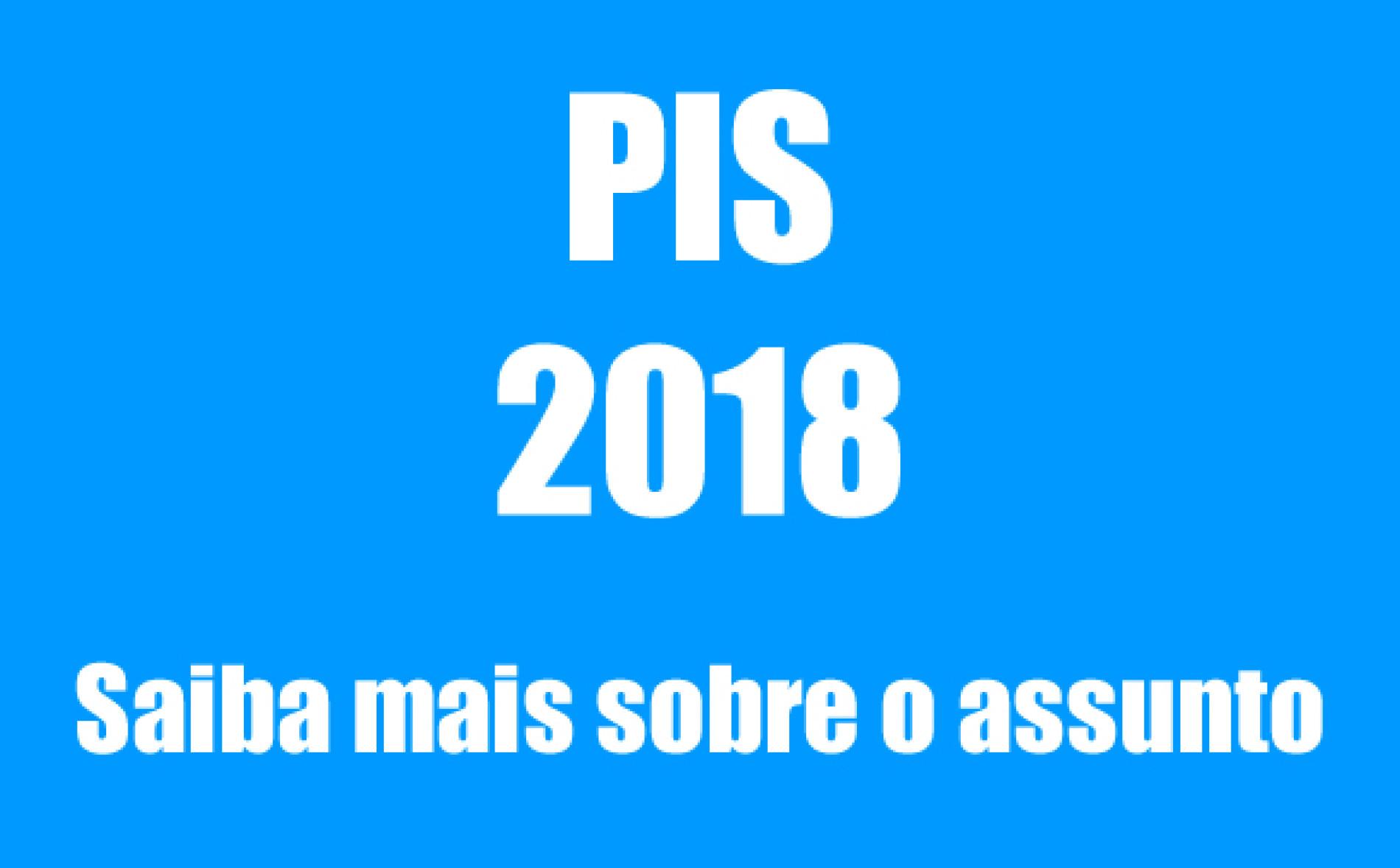 2018 – PIS Consulta Programa Integração Social – Caixa