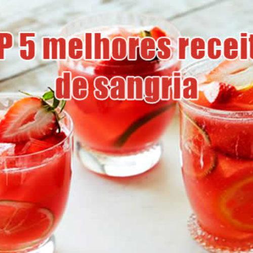 TOP 5 receitas de sangria – Como fazer a bebida do verão
