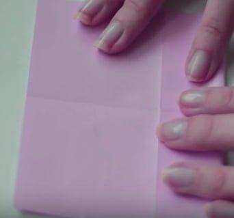 coracao papel marcador