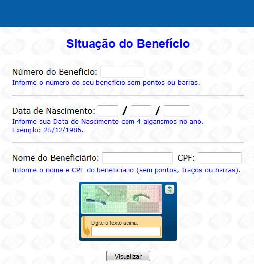 situacao do beneficio inss consulta online