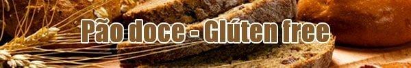 receita pao doce sem gluten