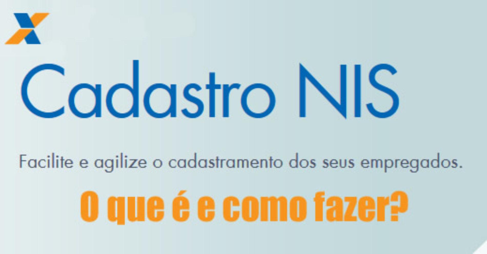 Como fazer o Cadastro NIS Online – Informações