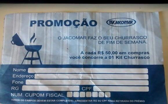 cupom promocao kit churrasco jacomar