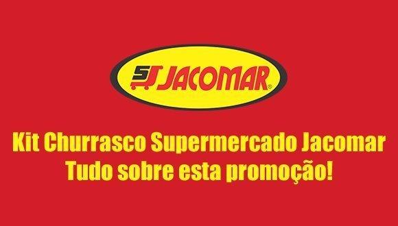 kit churrasco supermercado jacomar