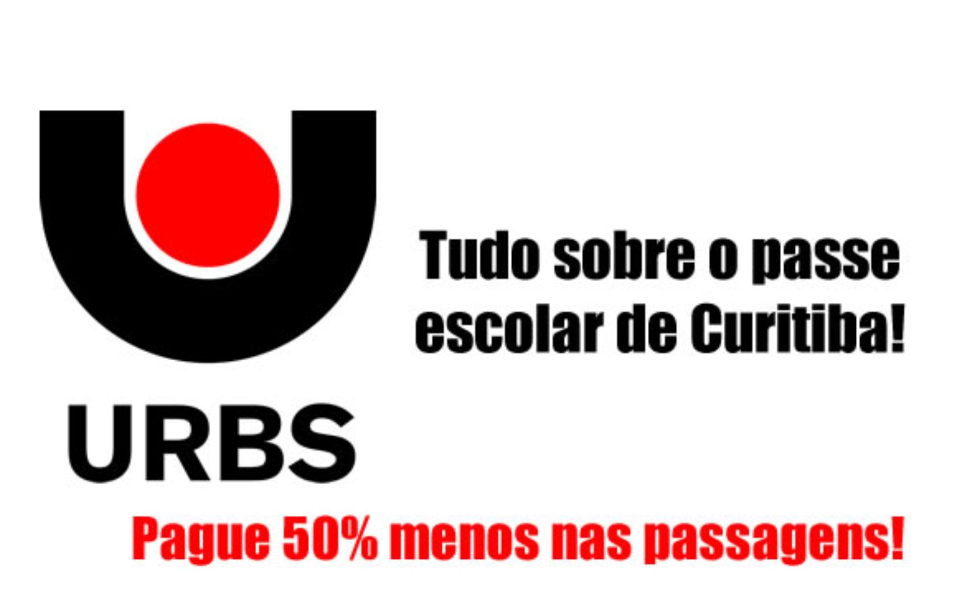 Como fazer o passe escolar em Curitiba URBS