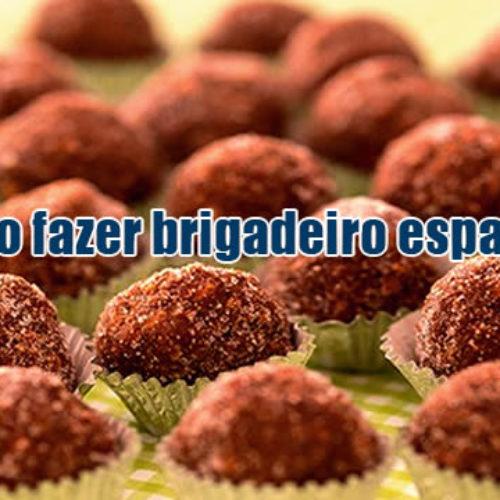 Como fazer a melhor receita de brigadeiro espanhol
