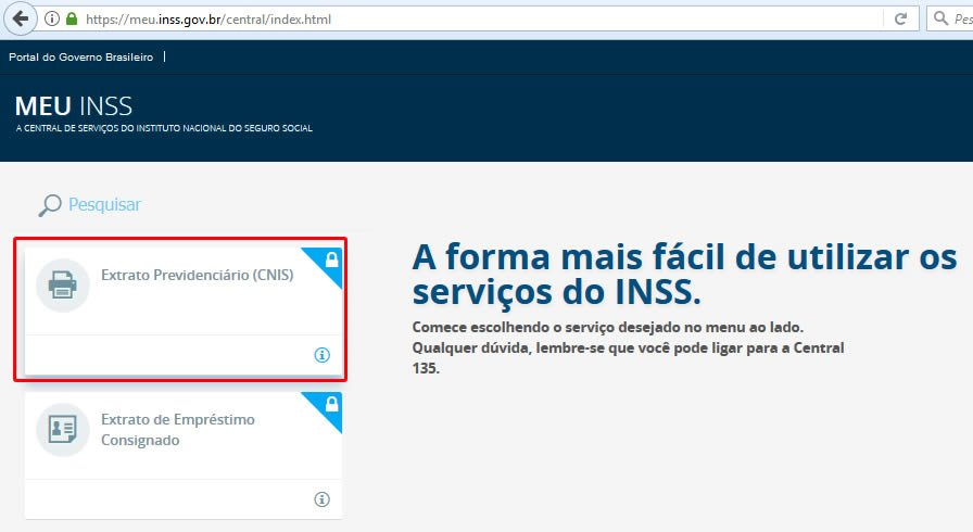 extrato pagamentos inss online