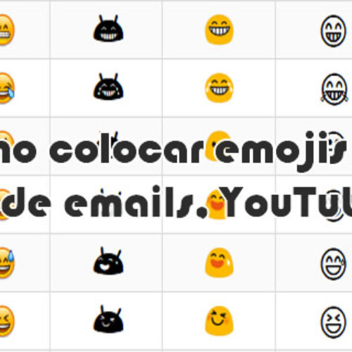 Site com todos os Emojis, Emoticons para incluir nos títulos do YouTube