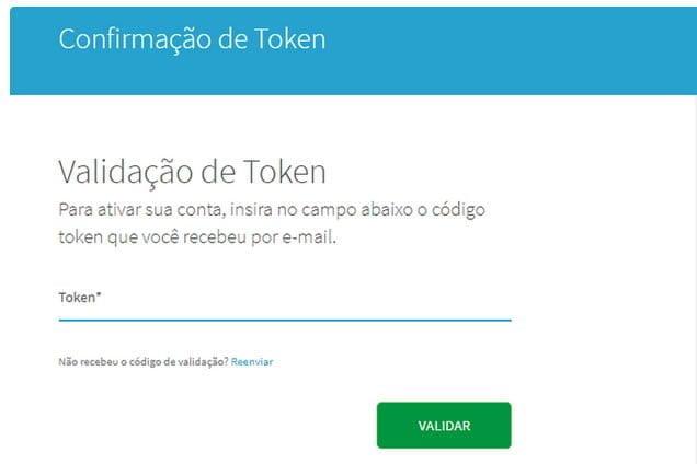 confirmacao codigo token consulta serasa